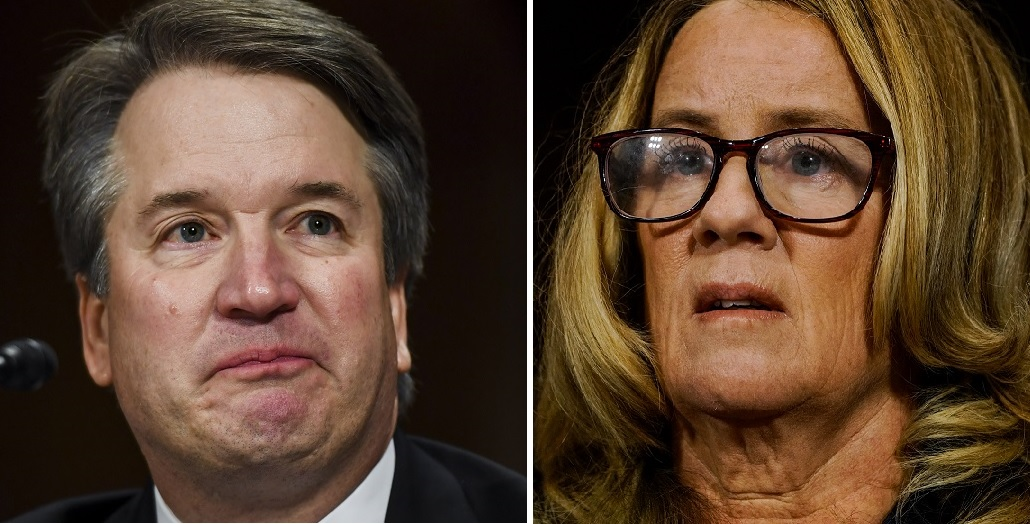 In an emotional day before the Senate Judiciary Comittee on Thursday, Supreme Court nominee Brett Kavanaugh and Christin Blasey ford testified about events that allegedly occurred in 1982, when Blasey Ford said Kavanaugh sexually assaulted her. (Getty Images)