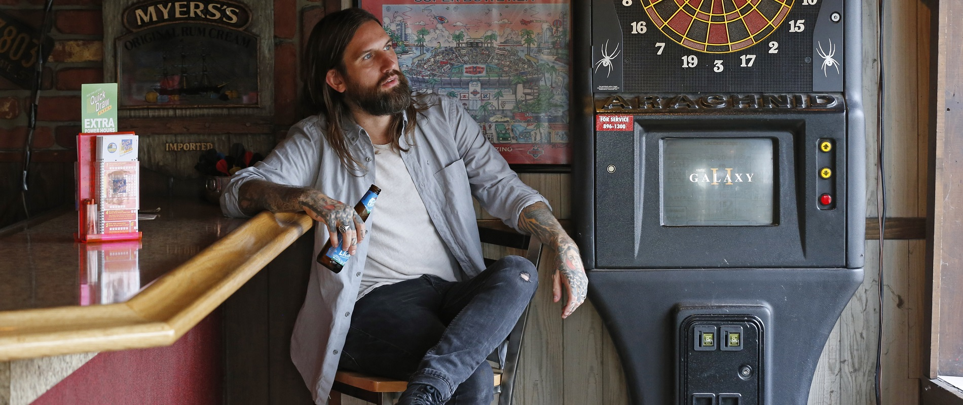Every Time I Die front-man Keith Buckley's second novel, 'Watch,' will be available Tuesday. (Robert Kirkham/Buffalo News)