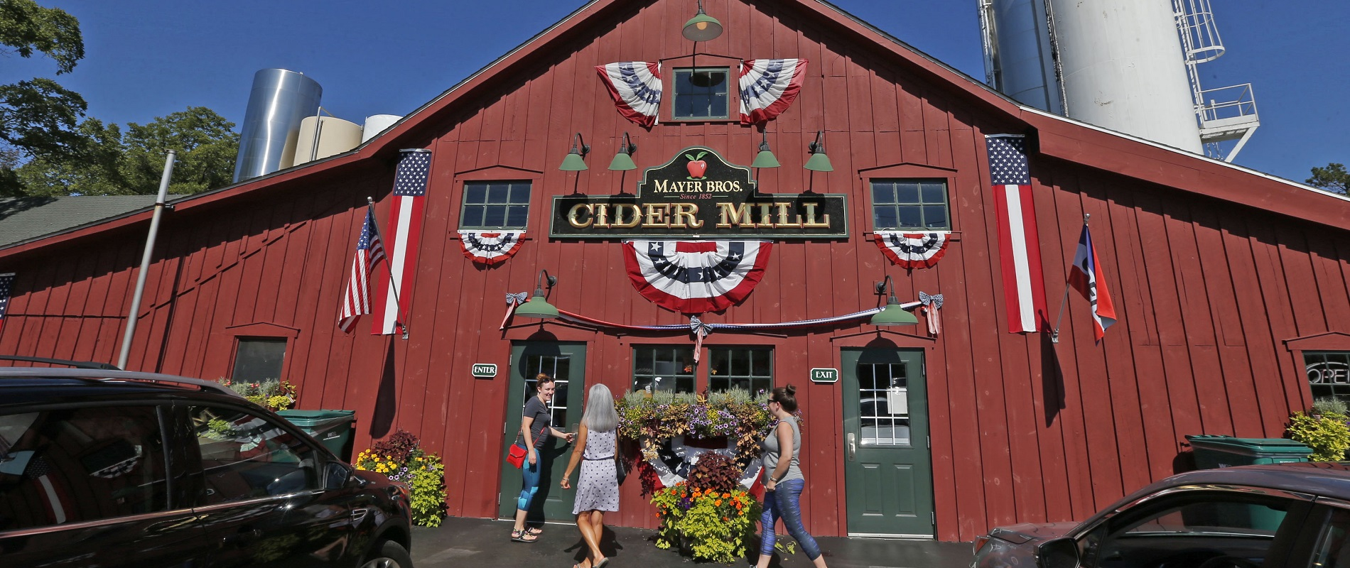 Mayer Bros. Cider Mill is just one example of what the Buffalo Niagara region has to offer. (Robert Kirkham/Buffalo News)