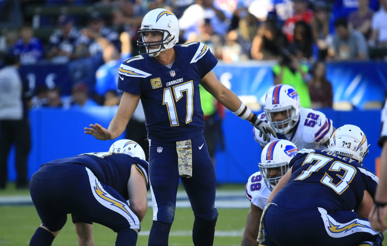 Philip Rivers and the Chargers will bring a prolific passing attack to New  Era Field on 773bc6c5f