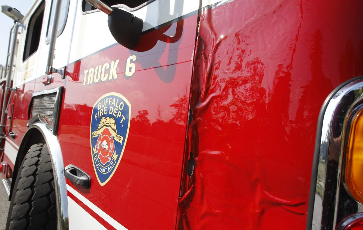 Some Buffalo firefighters claimed hearing loss because of the loud sirens on their trucks, but their lawsuit has ended quietly with no indication they received any compensation. (Harry Scull Jr./News file photo)