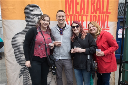 The third annual Meatball Street Brawl welcomed 20 local restaurants to challenge for three trophies on Sunday, Sept. 9, 2018. Osteria 166, on Franklin Street, presented and hosted the festival.