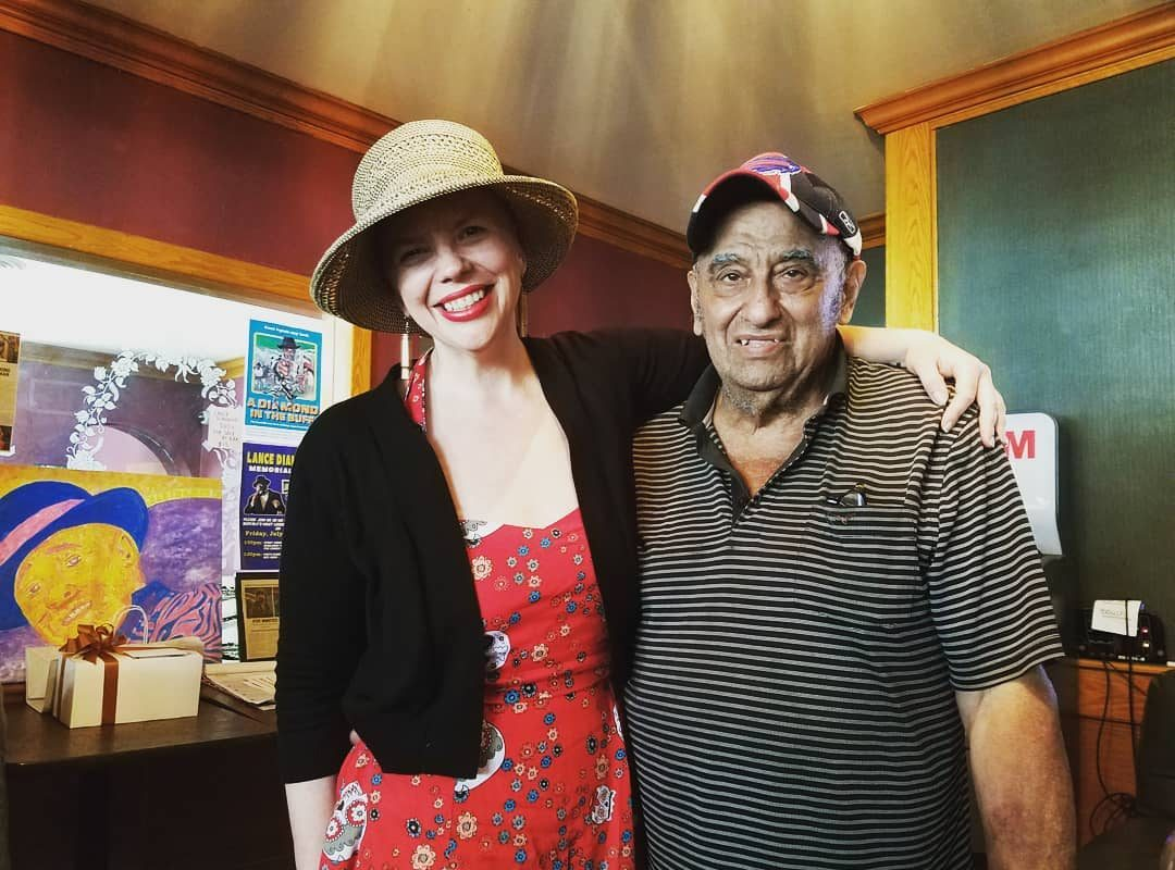 Author Kristy Mangel and her subject, Buffalo restaurateur Mike Milkie. (Contributed photo)
