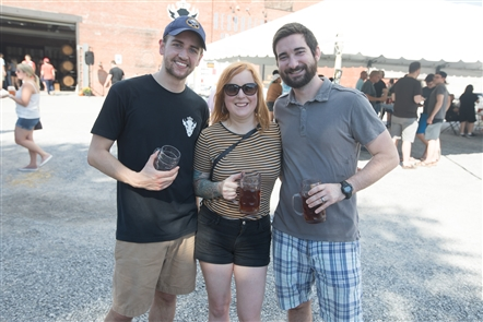 Smiles at Resurgence Brewing's Oktoberfest