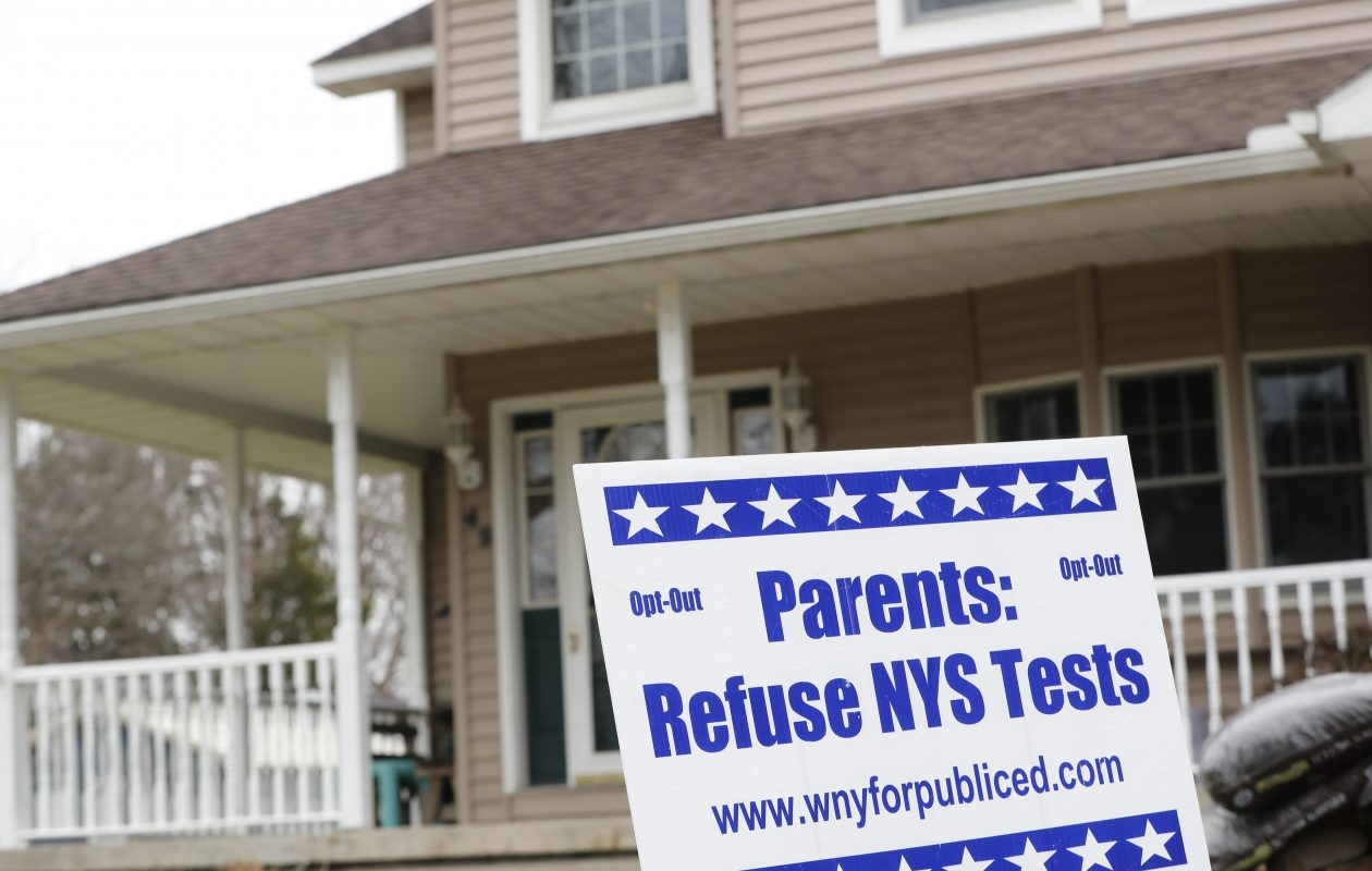 Parents have fueled a movement in recent years to have some students opt out of state standardized tests. (News file photo)