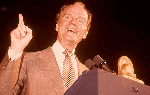 Paul Harvey speaks at the 1978 Future Farmers of America convention