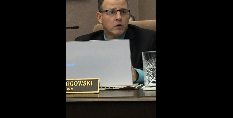 Councilman James Rogowski says he won't step down. (Jame Kwiatkowski Radlich/Buffalo News)