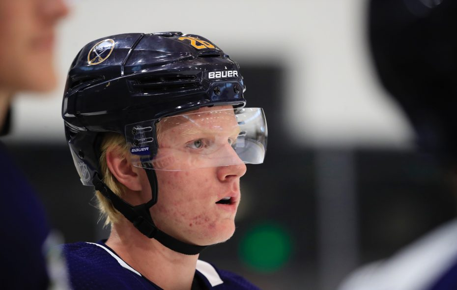 huge selection of afda2 a8d11 Sabres fans get first look at 'different' Rasmus Dahlin on ...