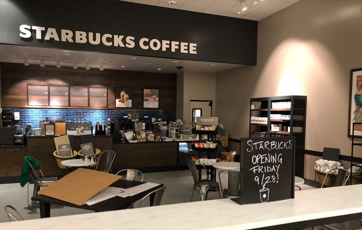 The new Starbucks at Target in North Buffalo. (Steve Watson/Buffalo News)