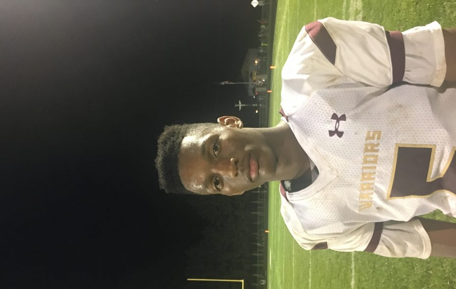 Cheektowaga wide receiver Tamell Bass focuses on becoming a more well-rounded player for the Warriors.