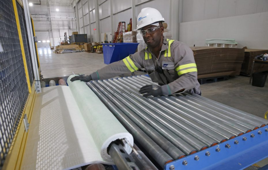 Unifrax last June showcased its new plant at 55 Pirson Road in the Town of Tonawanda. (Robert Kirkham/Buffalo News)