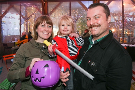 Smiles at Truck or Treat at Larkin Square