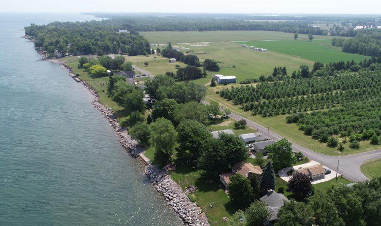 The Lake Ontario shoreline in Somerset, pictured Monday, June 18, 2018. (Derek Gee/Buffalo News)