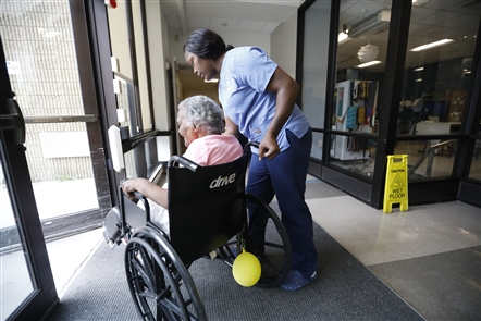 Inside Ellicott Center for Rehabilitation and Nursing
