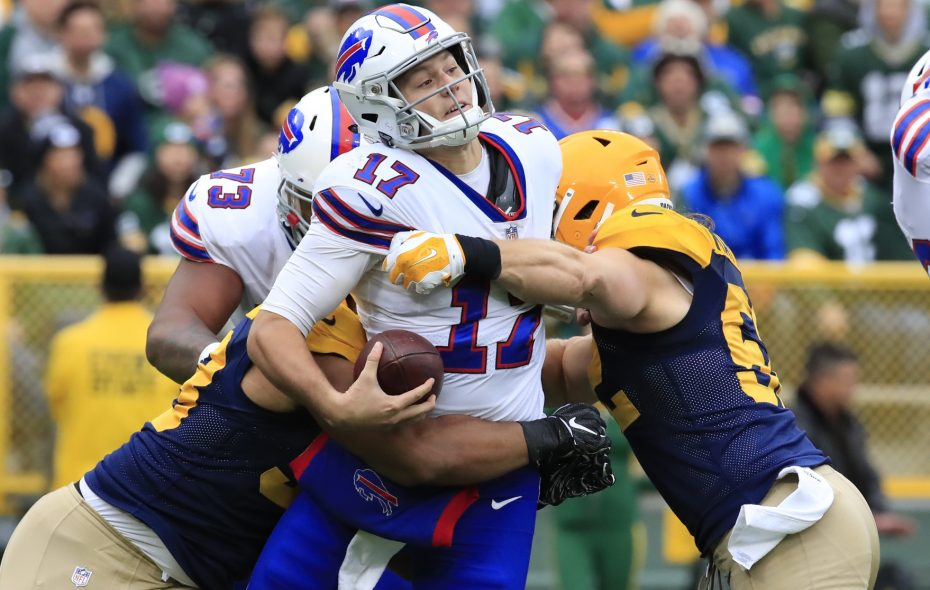 Bills quarterback Josh Allen and the offense have struggled through the first six weeks of the season. (Harry Scull Jr./Buffalo News)