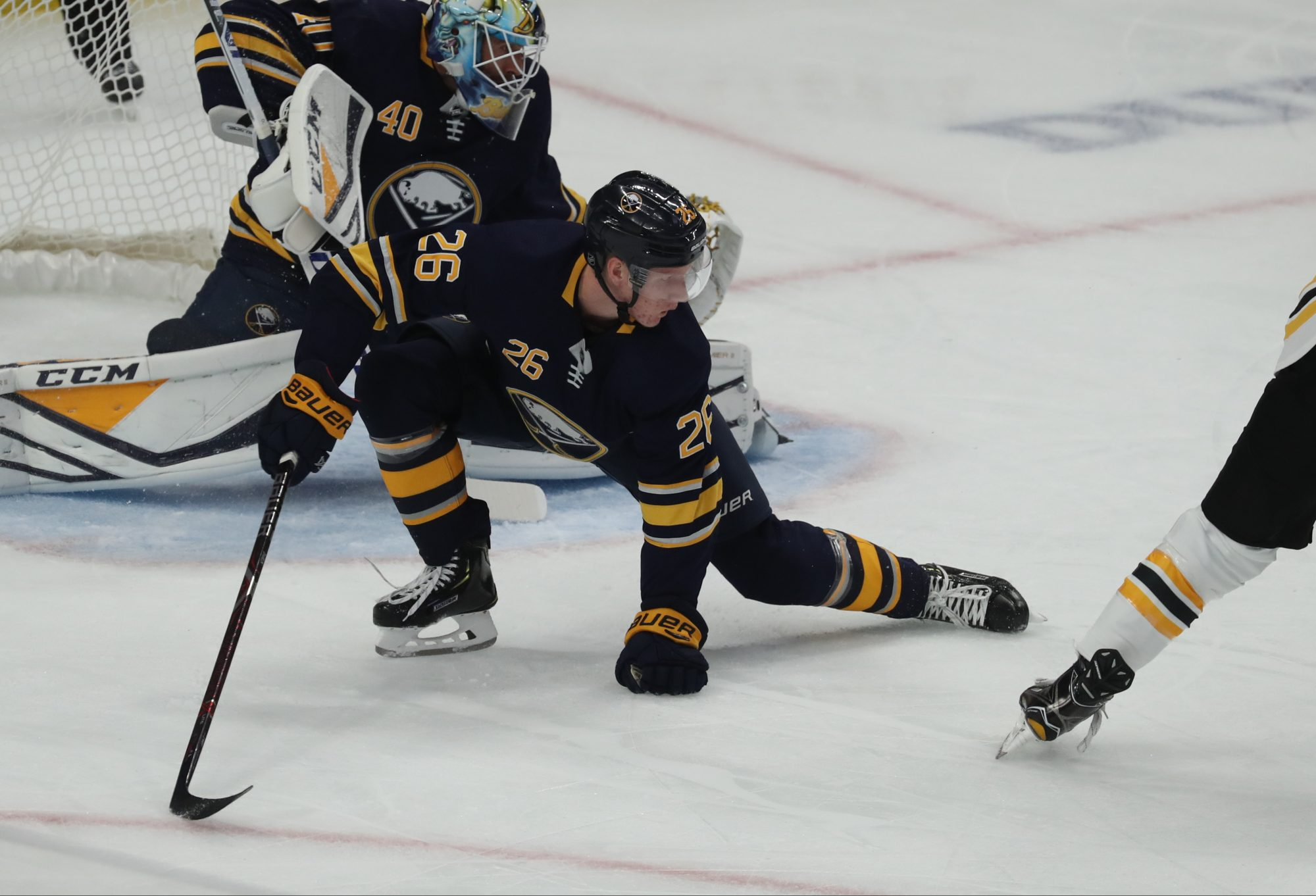 Sabres, Rasmus Dahlin offer disappointing debuts in loss to Bruins