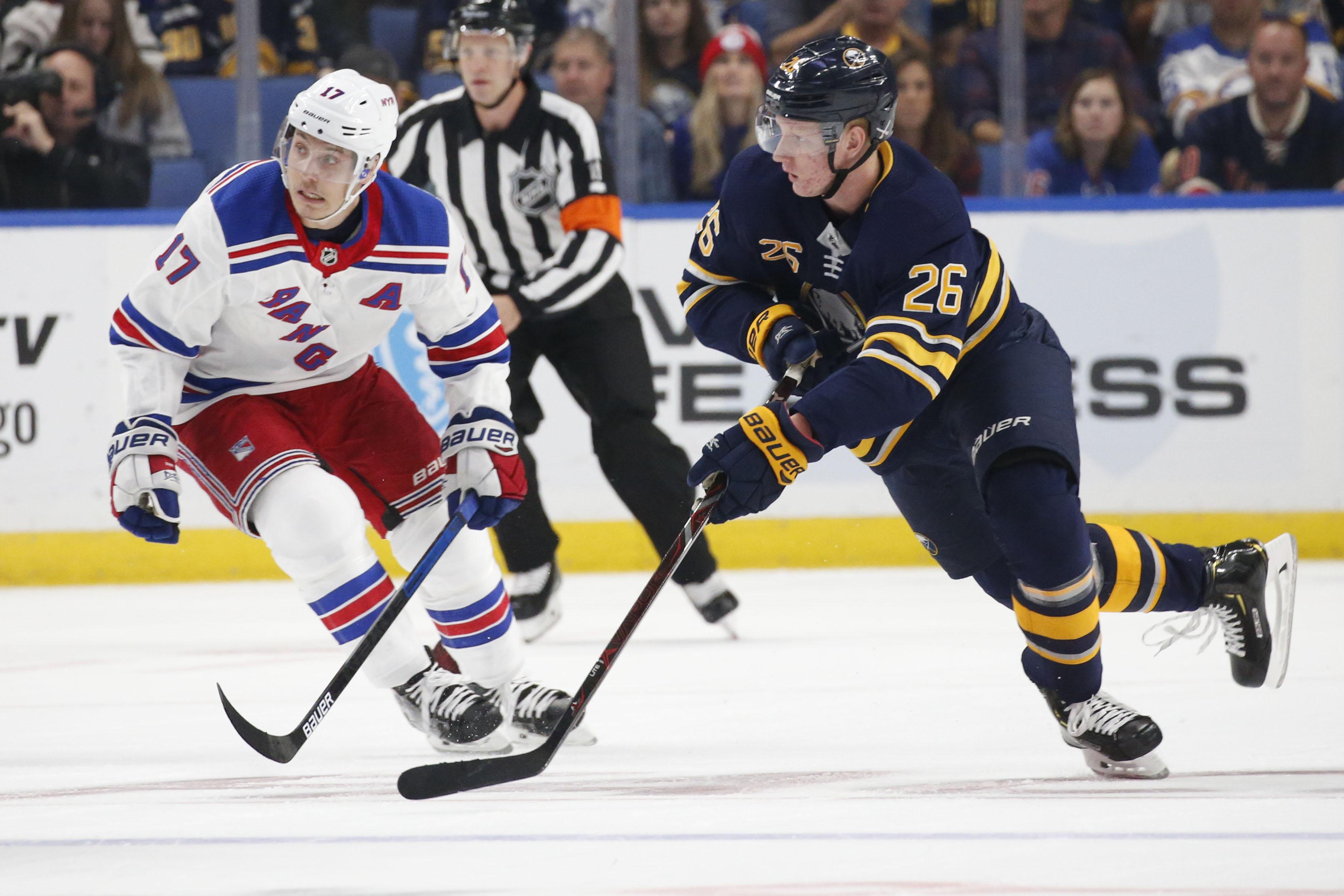 Travis Yost's Sabre Metrics: How Rasmus Dahlin's ice time is impacting Sabres' defensemen