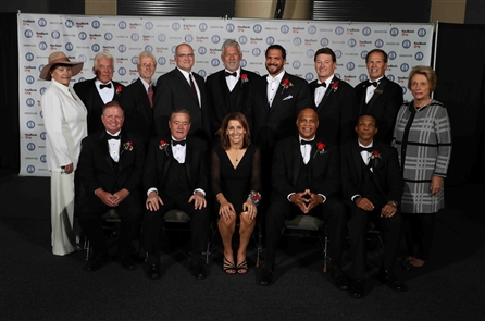 The Greater Buffalo Sports Hall of Fame held its 2018 induction ceremony on Tuesday, Oct. 9 in the Buffalo Niagara Convention Center.
