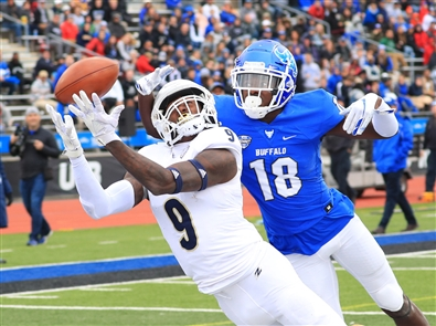 The UB Bulls took on the Akron Zips at home on Saturday, Oct. 13, in UB Stadium. UB dominated, taking the win 24-6.
