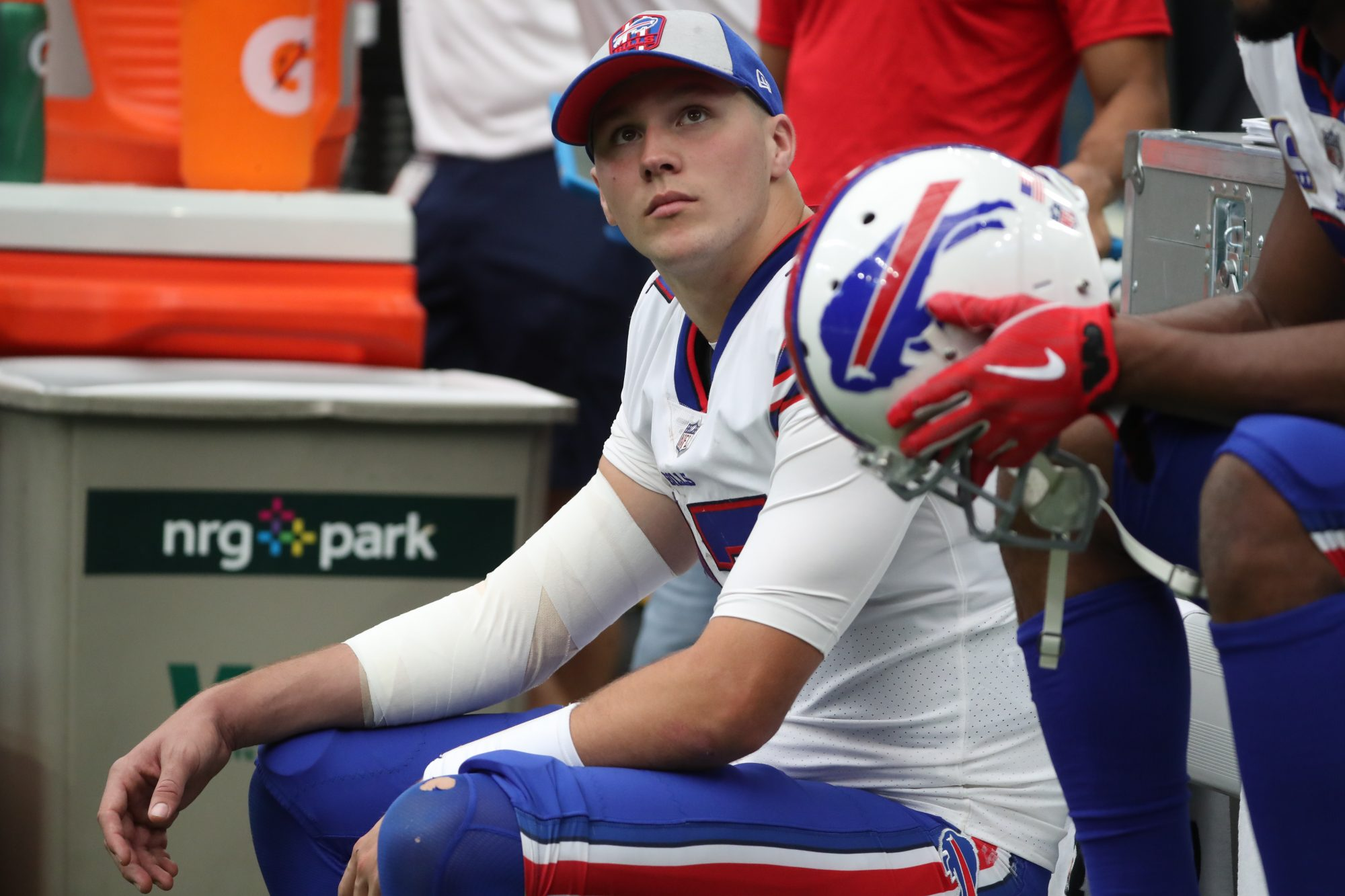 is josh allen playing this week