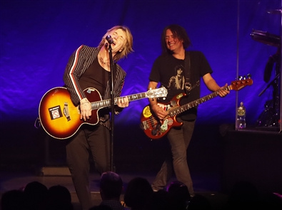 The Goo Goo Dolls played the first of three shows at Shea's Buffalo on Friday, Oct. 19, 2018.