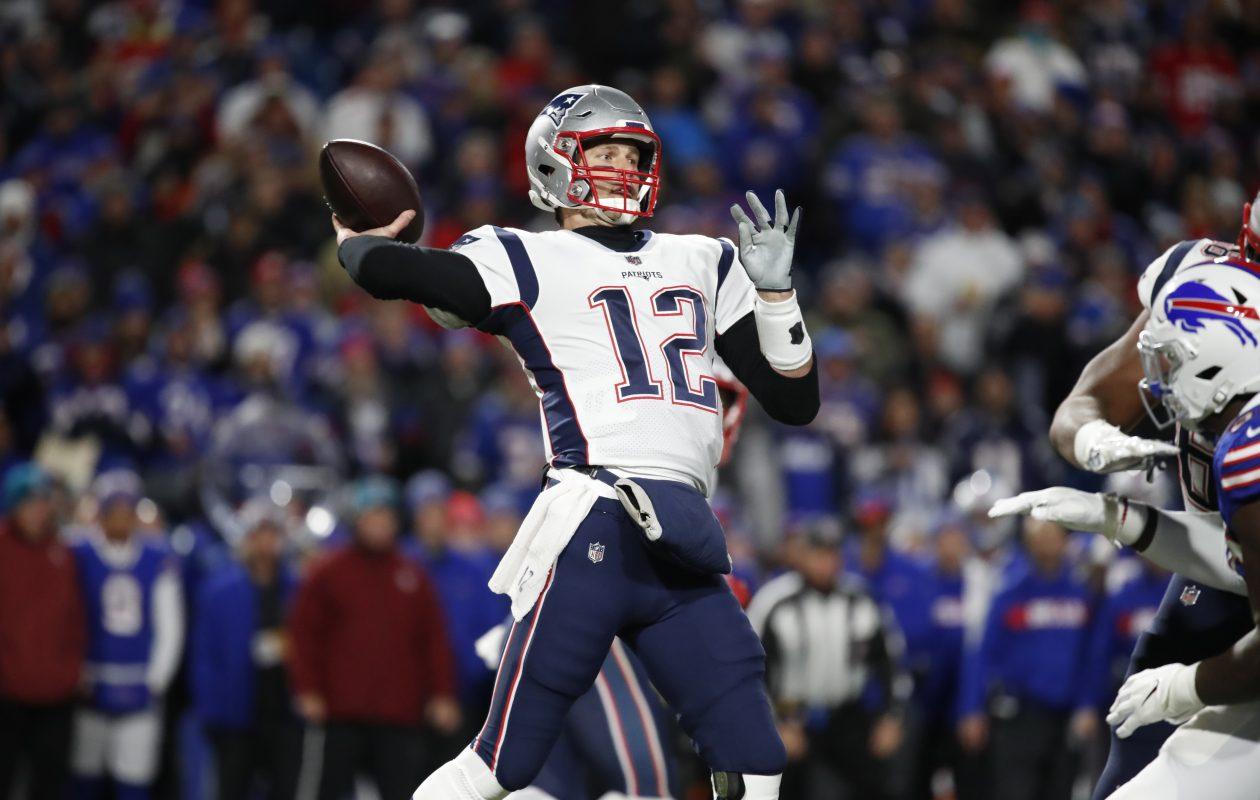 Tom Brady. (Harry Scull Jr./Buffalo News)