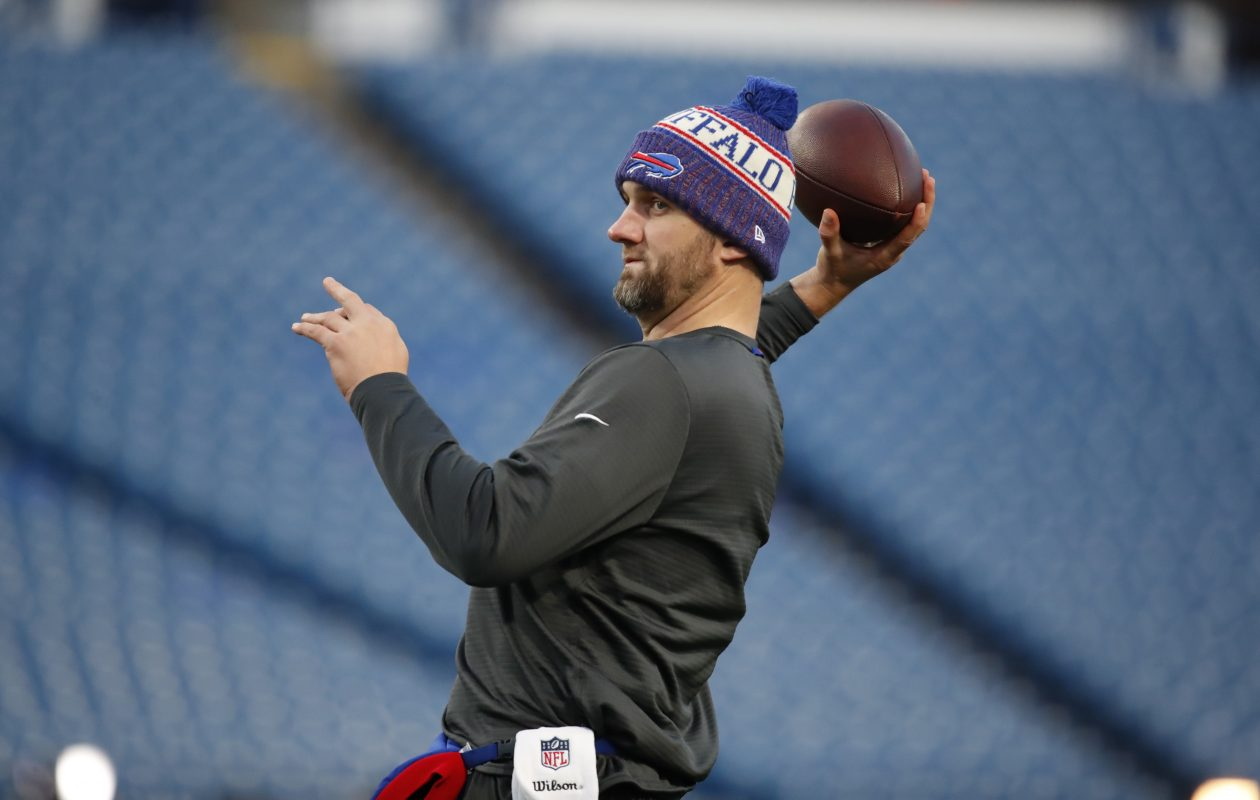 Bills quarterback Derek Anderson was cleared from the NFL's concussion protocol last week. (Harry Scull Jr./Buffalo News)