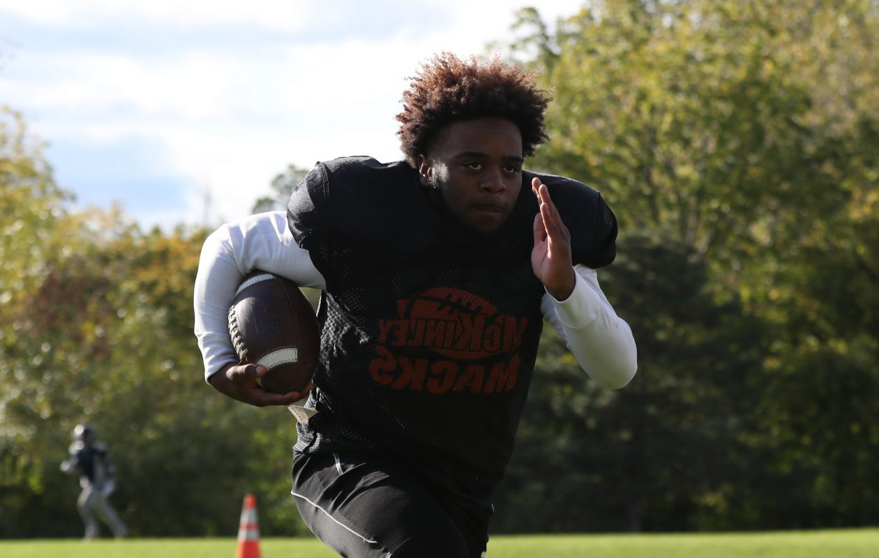 Kaiyer Fields has rushed for more than 300 yards in each of his last two games for McKinley.  (James P. McCoy/Buffalo News)