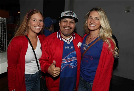 The official Indianapolis Bills Backers hung out in High Velocity bar at the JW Marriott near Lucas Oil Stadium on Saturday, the day before the Bills take on the Colts in Indianapolis, Indiana on Sunday.