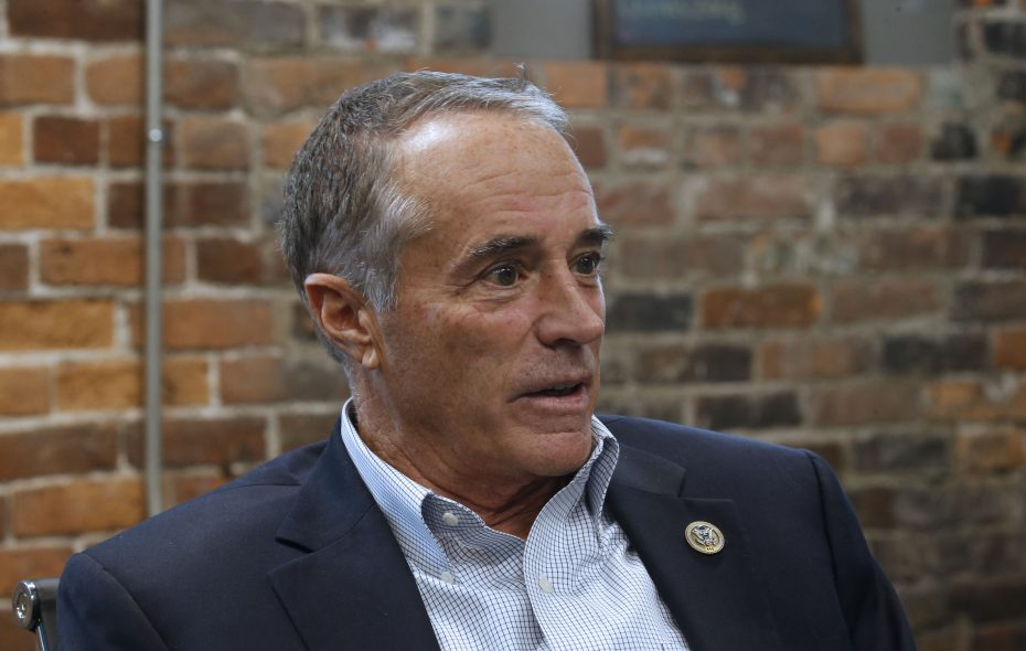 Former Rep. Chris Collins. (Robert Kirkham/News file photo)