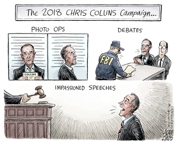A weekly highlight of political cartoons from The News' Pulitzer Prize-winner.