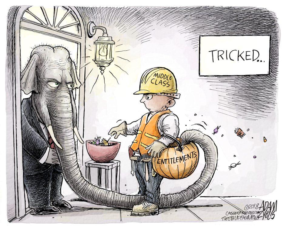 Entitlement cuts: October 31, 2018