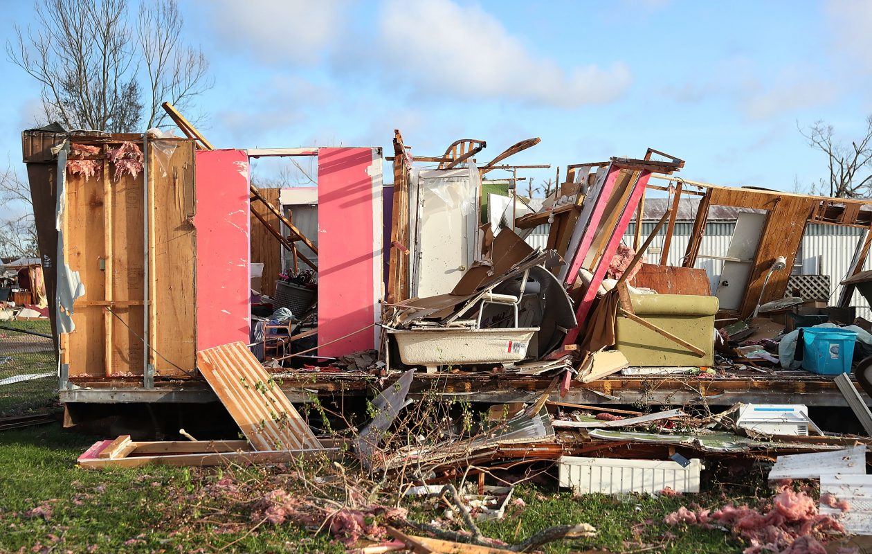 When was the last time a hurricane hit panama city florida