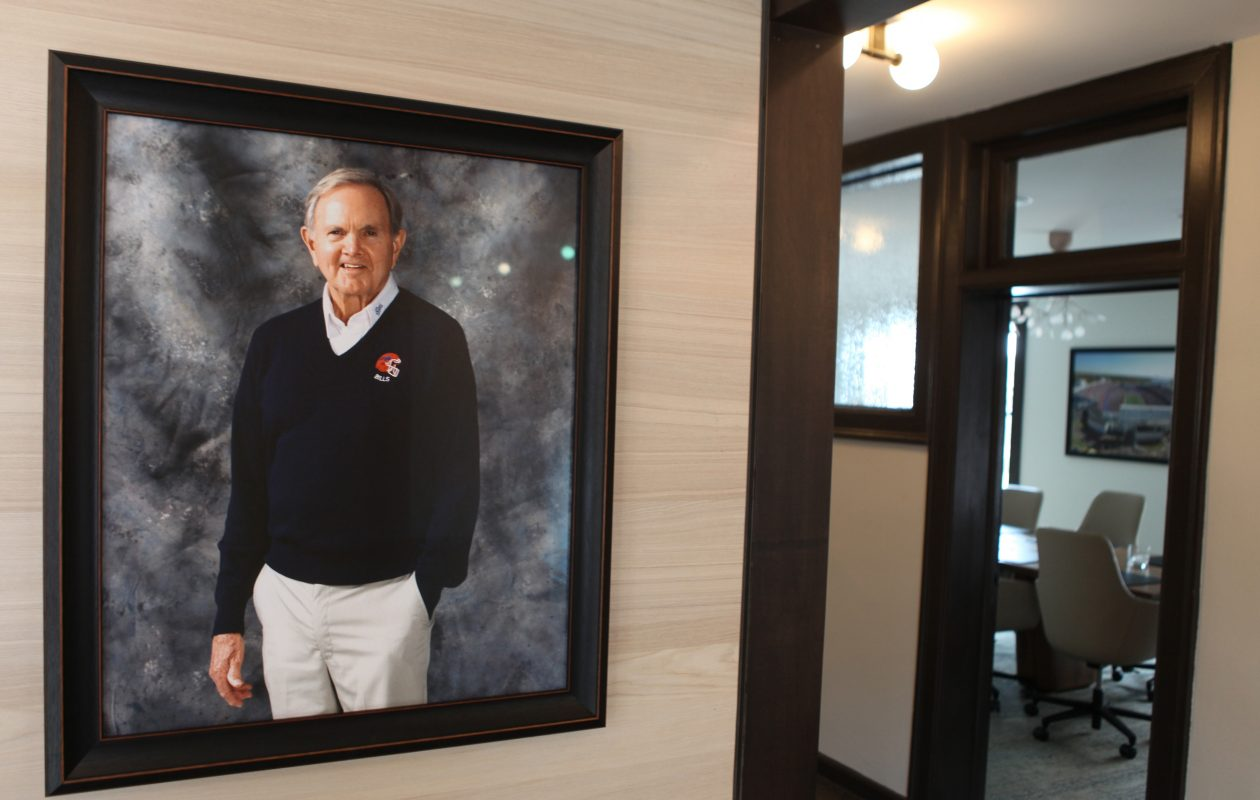 The Ralph C. Wilson Jr. Foundation's offices in Detroit. (J. Kyle Keener/Special to The News)