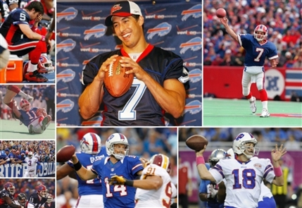 A statistical look at the quarterbacks for the Bills since the retirement of Jim Kelly.