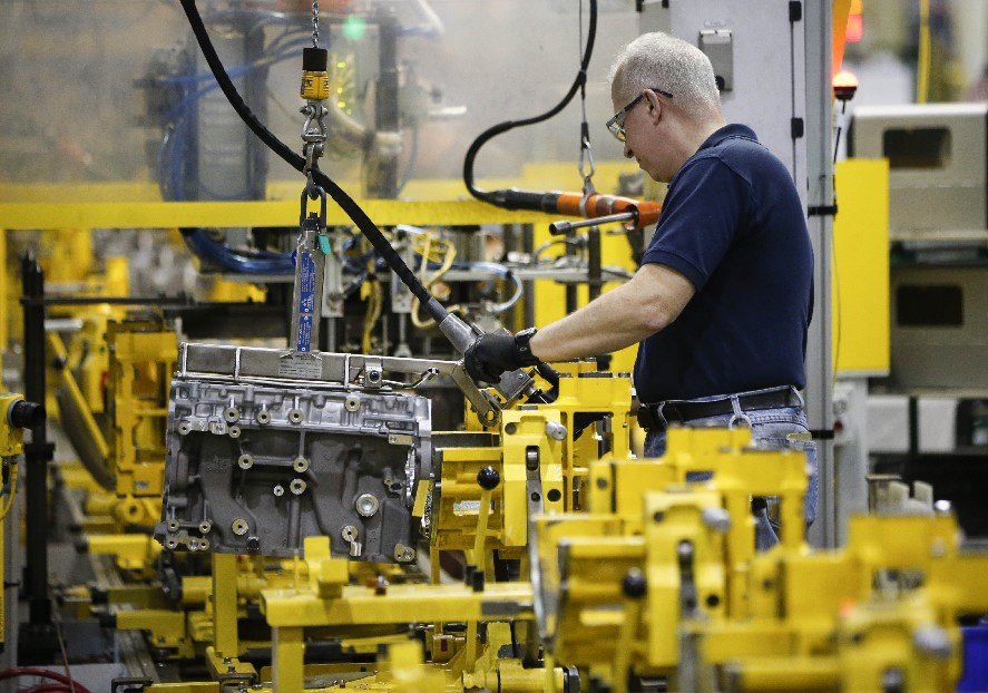 Under terms of the new trade agreement with Canada and Mexico, the United States could reap more automobile production, such as at the General Motors Tonawanda Engine Plant. That change could also increase manufacturing costs, raising prices for consumers. (Derek Gee/Buffalo News)