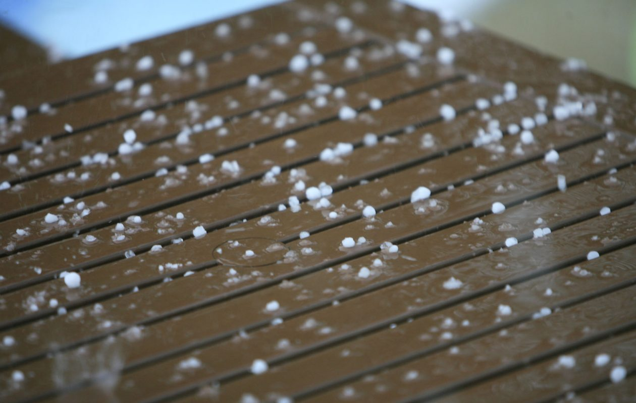 Sleet, hail or graupel — what's the difference? (Harry Scull Jr./News file photo)