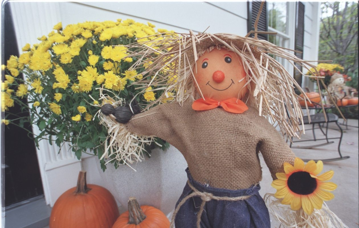 Fall is a fun time to decorate. Scroll below to see some photos sent in by readers for our latest Reader Challenge. Then vote for your favorite. (News file photo)
