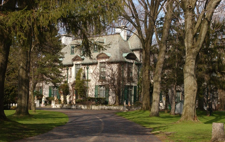 This E.B. Green-designed mansion on LeBrun Road in Eggertsville, the 2009 Decorators' Show House, sold this week for $1.15 million. (Buffalo News file photo)