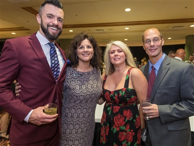 Big Brothers Big Sisters of Erie, Niagara and the Southern Tier held a fancy fundraising gala on Saturday, Oct. 20, 2018, in Seneca Niagara Events Center. Cocktails, dinner, an auction, an awards ceremony and live music by JoyRyde were among the evening highlights.