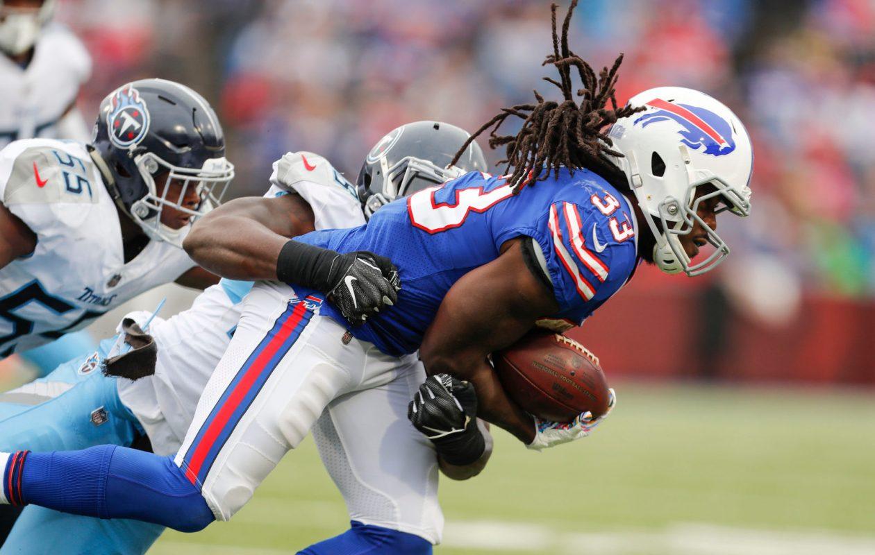 Bills running back Chris Ivory. (Mark Mulville/Buffalo News)