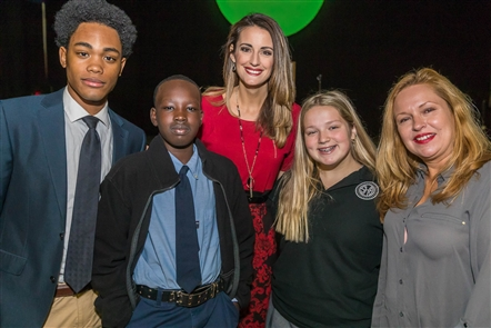 The Bison Fund, which has awarded scholarships for low-income families to send students to private elementary schools, recently expanded its mission to include eighth graders. The organization's luncheon on Tuesday, Oct. 16, 2018, in the Buffalo Niagara Convention Center, recognized donors and celebrated the Bison Fund's work in the community.