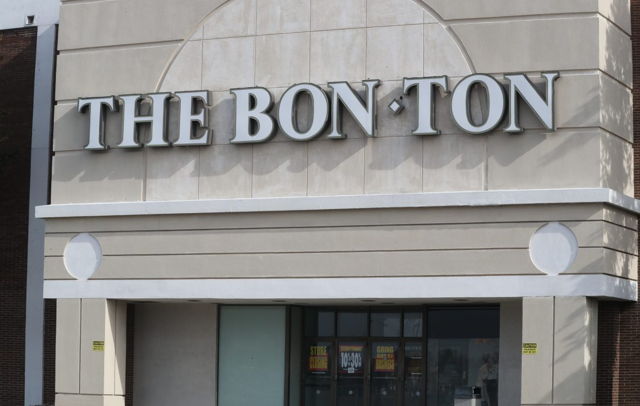 The Bon-Ton store during its going-out-of-business sales at the Eastern Hills Mall. Closures of department stores at malls are a contributing factor for the rising retail vacancy rate in Western New York. (James P. McCoy/News file photo)