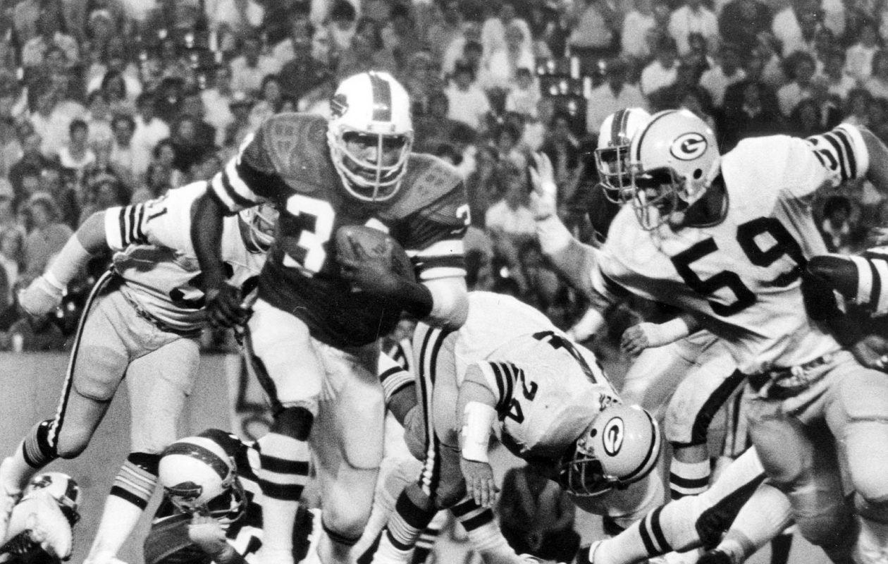 Jim Braxton wore No. 34 for the Bills after Cookie Gilchrist and before Thurman Thomas. (Buffalo News file photo)