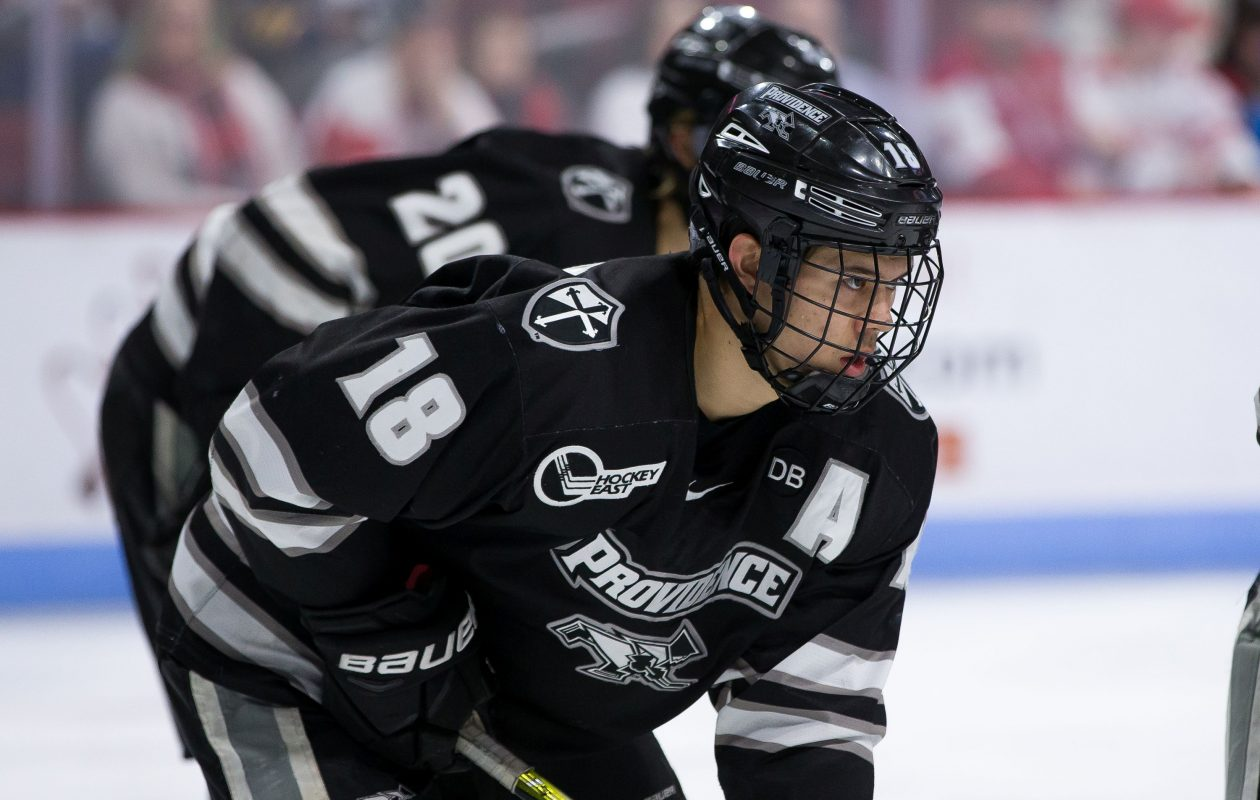 Hockey East: Sabres Prospect Jacob Bryson Uses Skill, Smarts To Thrive As Undersized Defenseman
