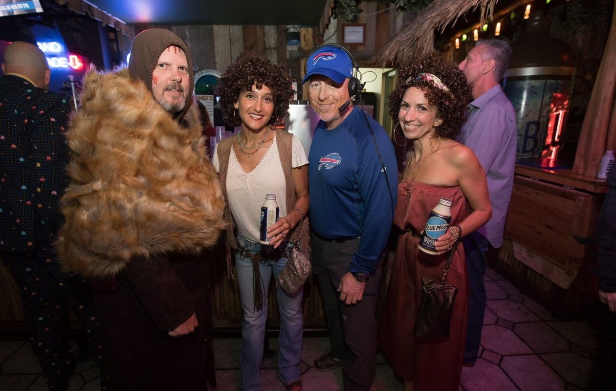 Smiling faces at the 2017 Buffalo's Biggest Halloween Bash, presented by Shredd  & Ragan from 103.3 The Edge FM. It's back for another year Friday night. (Chuck Alaimo/Special to The News)