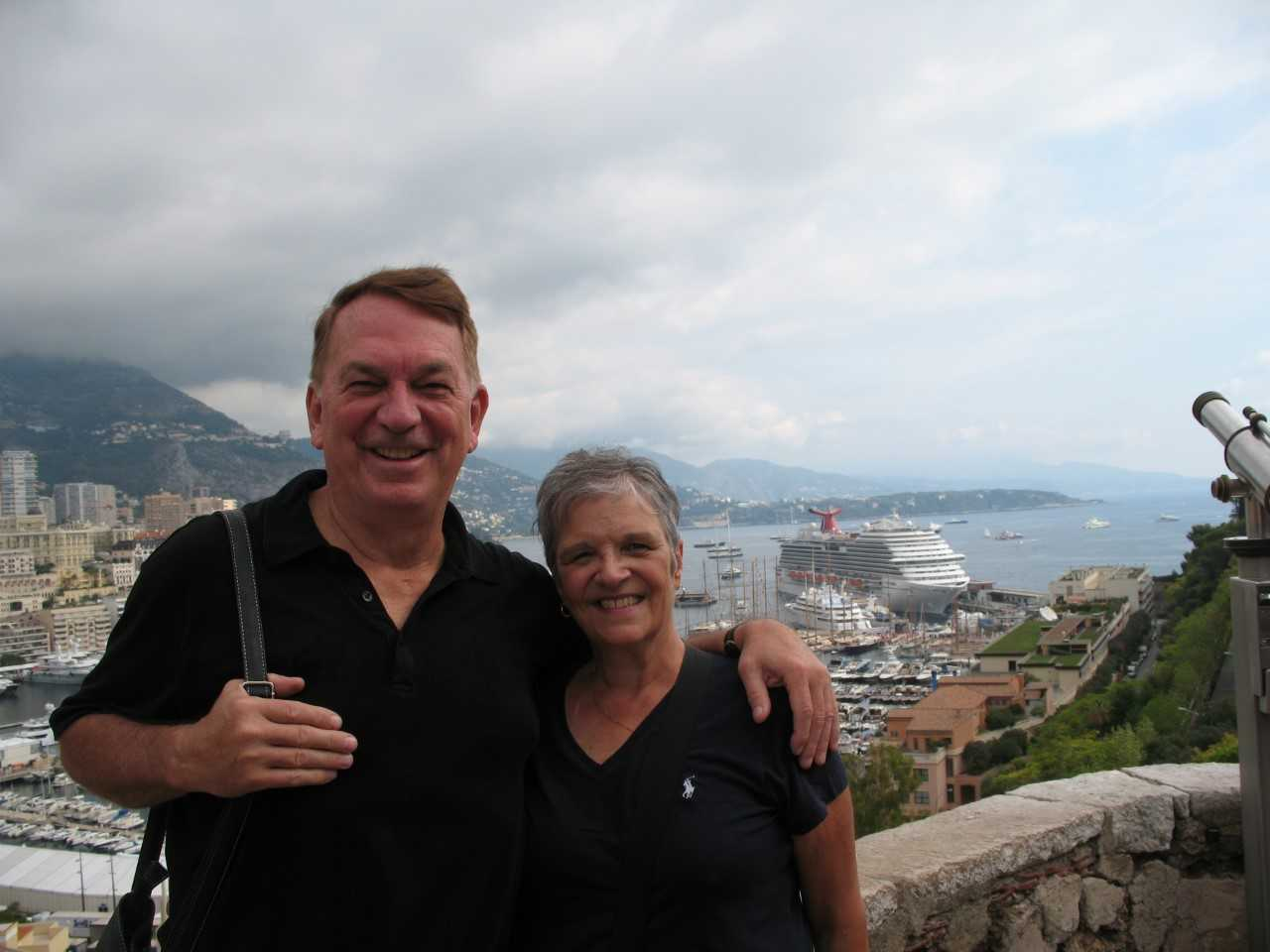 c7ddf7587f88 James and Donna Christmann in Monaco in 2012.
