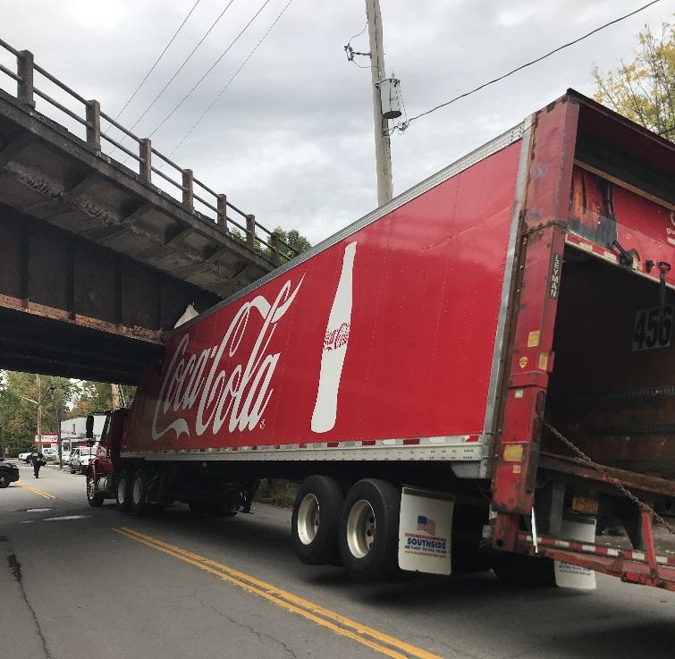 Bridge Street Auto >> Tractor-trailer damaged in crash with bridge – The Buffalo News