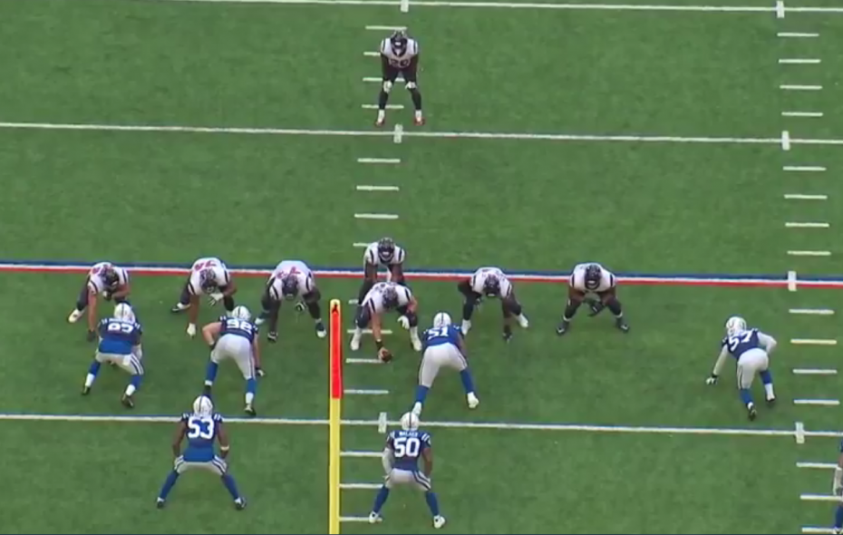 Play to Watch: Colts' defensive line slants