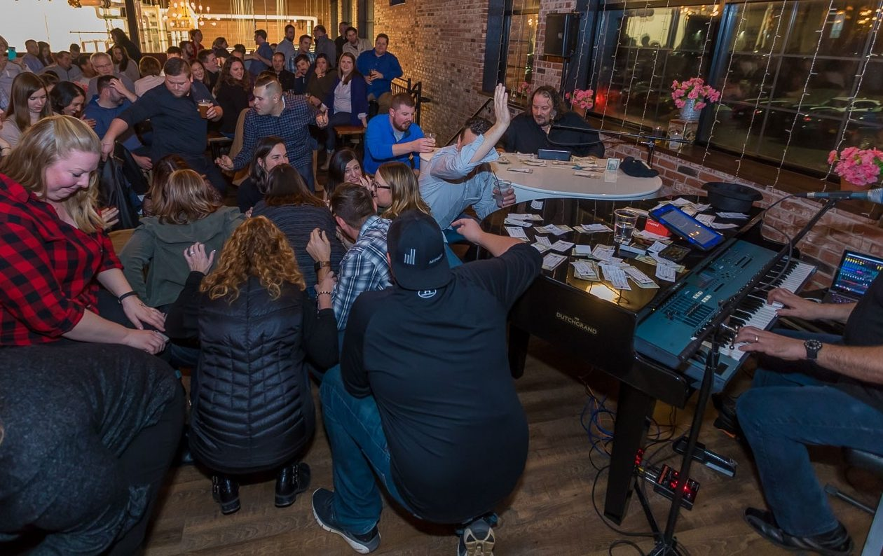 Dueling Pianos, pictured entertaining New York Beer Project earlier this year, is booked for Resurgence. (Don Nieman/Special to The News)